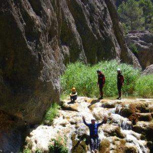 activitats catalunya barranquisme horta de sant joan