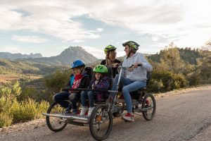 bicicleta familiar horta de sant joan terra alta tarragona els ports terres de l ebre